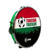 Pandeiro Luen ABS Verde 10 Torcida Tricolor 490078 -