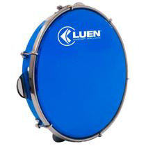 """Pandeiro Luen Percussion 10"""" ABS com Pele Holográfica Azul -"""