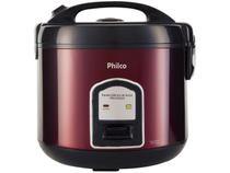 Panela de Arroz Elétrica Philco Inox Red - Collection PPA10VGVI 700W 10 Xícaras Vermelha