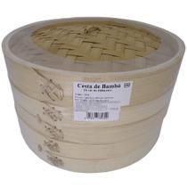 Panela de Bambú para Cozimento à Vapor Diam. 24cm - Towa