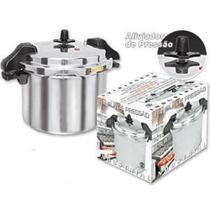 Panela de Pressão 12 litros Industrial Polida com Alças - Fulgor -