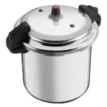 Panela de Pressão 20 litros Polida Fechamento Externo Alumínio Nacional -