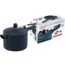 Panela de Pressão 4,5L Antiaderente Marcolar Azul -
