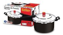 Panela de Pressão 7,5 litros Black Fechamento Externo Antiaderente  Eirilar -