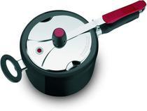 Panela de pressão clock 4,5 litros preta - Grupo Seb