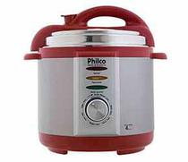 Panela de Pressão Elétrica 4L 127V Vermelha Philco -