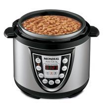 Panela de pressão elétrica digital 4 litros Pratic Cook 4L- PE-09 (110V) - Mondial