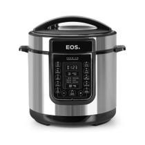 Panela de Pressão Elétrica EOS Multicooker Digital 6L Inox EPP60DI 110V 110V -