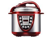 Panela de Pressão Elétrica Mondial Pratic Cook  - 700W 5 Litros Tela