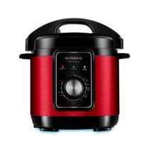 Panela de Pressão Elétrica Mondial Pratic Cook PE-47 Vermelha -