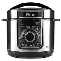 Panela de Pressão Elétrica Multifuncional INOX 127V - PHILCO -