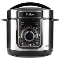 Panela de pressao eletrica multifuncional philco 5l 220v ppp02 inox -
