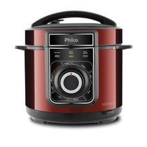 Panela De Pressão Elétrica Philco 5L Multifuncional 900w Inox Red 220v -