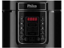 Panela de Pressão Elétrica Philco Digital PPPP 01 - 1000W 6L Timer Controle de Temperatura Preto