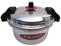 Panela de Pressão Polida Industrial com Alça Fulgor - 12 Lt -
