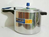Panela de pressão real 7 litros polida -