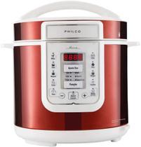 Panela de Pressão Retrô 6L PPP01VB 1000W Philco Vermelho - 110V -