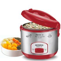 Panela elétrica de arroz 6 xícaras Pratic Rice 6 Red Premium - PE-35 (110V) - Mondial