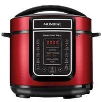 Panela Elétrica de Pressão Mondial Digital Master Cooker Red 5 Litros -