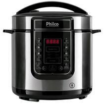Panela Elétrica de Pressão Philco PPP01S Digital, 6L, 1000W, Inox - 110V -