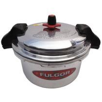 Panela Fulgor de Pressao Aluminio 12 Litros sem Cabo com Fechamneto externo -