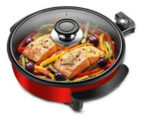 Panela/grill Multifuncional Life Red 127v Lenoxx - Ppe157 -