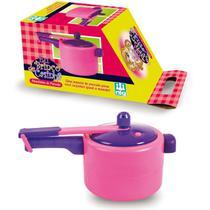 Panela Panelinha De Pressão Cozinha Infantil - Nig - Nig Brinquedos
