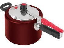 Panela Pressao 4,5l Favorita Vermelha Clock Ir45 -