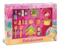 Panelinha Comidinha De Brinquedo Cozinha Infantil Zuzubalandia 2 - Samba Toys