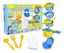 Panelinhas de Cozinha Brinquedo Infantil Galinha Pintadinha - Nig