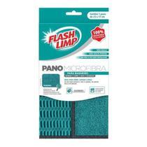 Pano Microfibra para BANHEIRO Flash Limp FLP6711 - Flashlimp