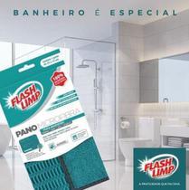 Pano Microfibra Para Banheiro Flash Limp Flp6711 -