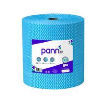 """Pano Multiuso de Limpeza Lavável Azul """"tipo perfex"""" 600 panos (28x50cm) 300m - Pann"""