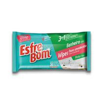Pano Umedecido Bettanin Esfrebom Wipes Banheiro C/20 -