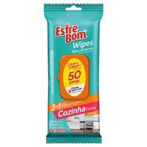 Pano Umedecido Bettanin Esfrebom Wipes Cozinha C/50 -