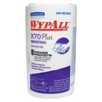 Pano Wiper Wypall X70 Plus Rolo-kimberly Clark C/88 Folhas -