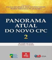Panorama atual do novo cpc - Emporio Do Direito
