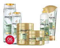 Pantene Bambu Nutre E Cresce Com Rícino E Cafeina Kit 06 Itens - Salon Line