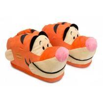 Pantufa 3D Disney Tigrão  28/30 Unissex Ricsen  20CM -