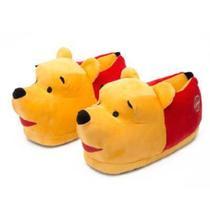 Pantufa 3D Pooh Sola De Borracha Ricsen 28-30 -