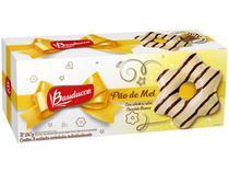 Pão de Mel Bauducco com Cobertura de Chocolate - Branco e Riscas Meio Amargo 240g 8 Unidades
