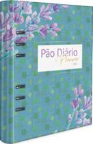 Pão Diário Planner 2021 Azul -
