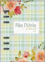 Pão diário - planner 2021 verde - Pao Diario