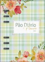 Pão Diário Planner 2021 Verde -
