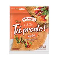 Pão Tipo Tortilha Tá Pronto Wb Vegetais 270G - Wickbold