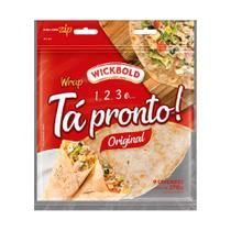 Pao Tortilha Ta Pronto Original 270g Wickbold -