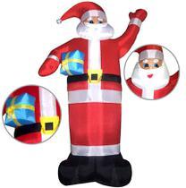 Papai Noel Inflavel Gigante 5 metros Decoracao Natal Enfeite Natalino (bsl-36041-6) - Braslu