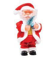 Papai Noel Musical com Presente 17 cm - Art Christmas