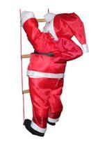 Papai Noel Subindo As Escadas 90 Cm Natal 2020 - King Brinq