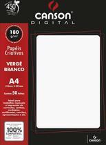 Papel A4 Verge Digital Branco 180G. Canson -